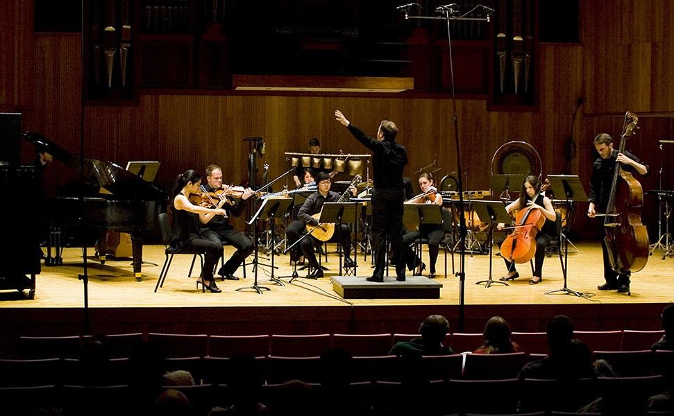 Requiescat  Ji B 2014  Ensemble Signal Brad Lubman Conductor  1